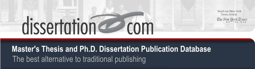 publishing your masters dissertation Publishing your thesis with lulu i would like to publish my masters dissertationcan you advise pls reply click here october 6, 2013 at 8:14 pm reply.